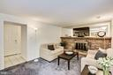 From family room  to laundry and Bonus Room #1 - 1209 GOTH LN, SILVER SPRING