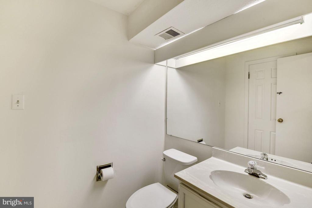 2nd main level powder room. - 1209 GOTH LN, SILVER SPRING