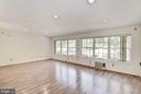 Bonus room #1 has a  wall of windows - 1209 GOTH LN, SILVER SPRING