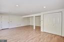 Bonus room #1 has doors to garage & 2nd powder rm - 1209 GOTH LN, SILVER SPRING