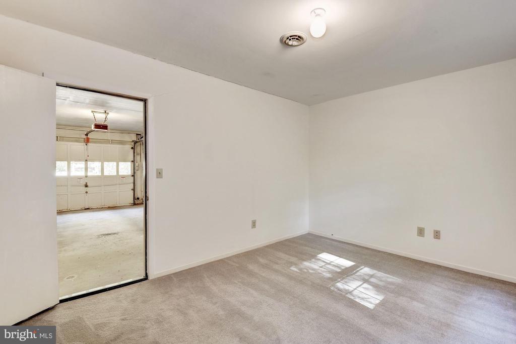 Bonus room entrance from garage. - 1209 GOTH LN, SILVER SPRING
