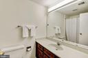 Upstairs hall bath. - 1209 GOTH LN, SILVER SPRING