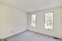 Bedroom #2 with 2 windows - 1209 GOTH LN, SILVER SPRING