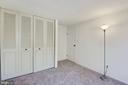 Bedroom #3 closet - 1209 GOTH LN, SILVER SPRING