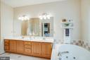 Jetted soaking tub to relax at the end of the day! - 3 BULLRUSH CT, STAFFORD