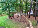 Walking path from deck to back patio - 3 BULLRUSH CT, STAFFORD