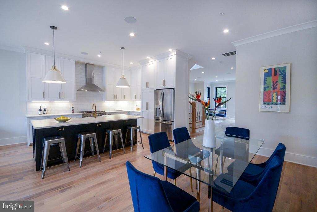 GRAND kitchen and dining area - 1432 1/2 G ST SE, WASHINGTON