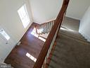 VIEW FROM DRAMATIC STAIR CASE - 900 ROSEMERE AVE, SILVER SPRING