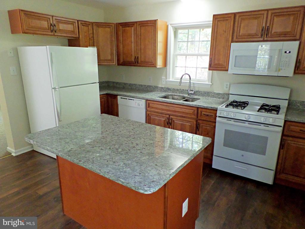 KITCHEN WITH NEW GRANITE COUNTERTOPS - 900 ROSEMERE AVE, SILVER SPRING