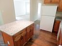 KITCHEN~ WITH BEAUTIFUL MAPLE CABINET - 900 ROSEMERE AVE, SILVER SPRING