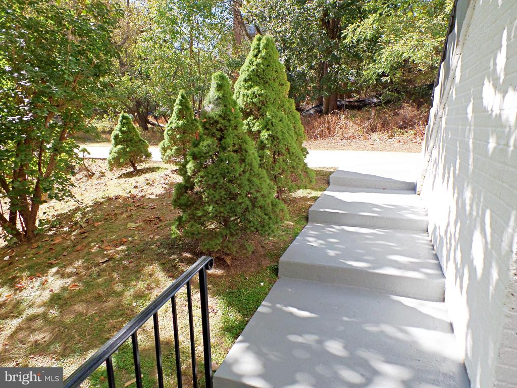 PRIVATE ENTRANCE TO BASEMENT - 900 ROSEMERE AVE, SILVER SPRING