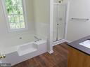 MASTER TUB AND SHOWER - 900 ROSEMERE AVE, SILVER SPRING
