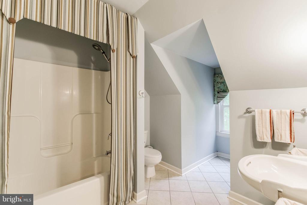 Custom Full Bathroom of Bedroom 2 - 8240 EDGEWOOD CHURCH RD, FREDERICK