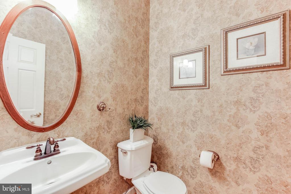 Powder room first floor - 8240 EDGEWOOD CHURCH RD, FREDERICK