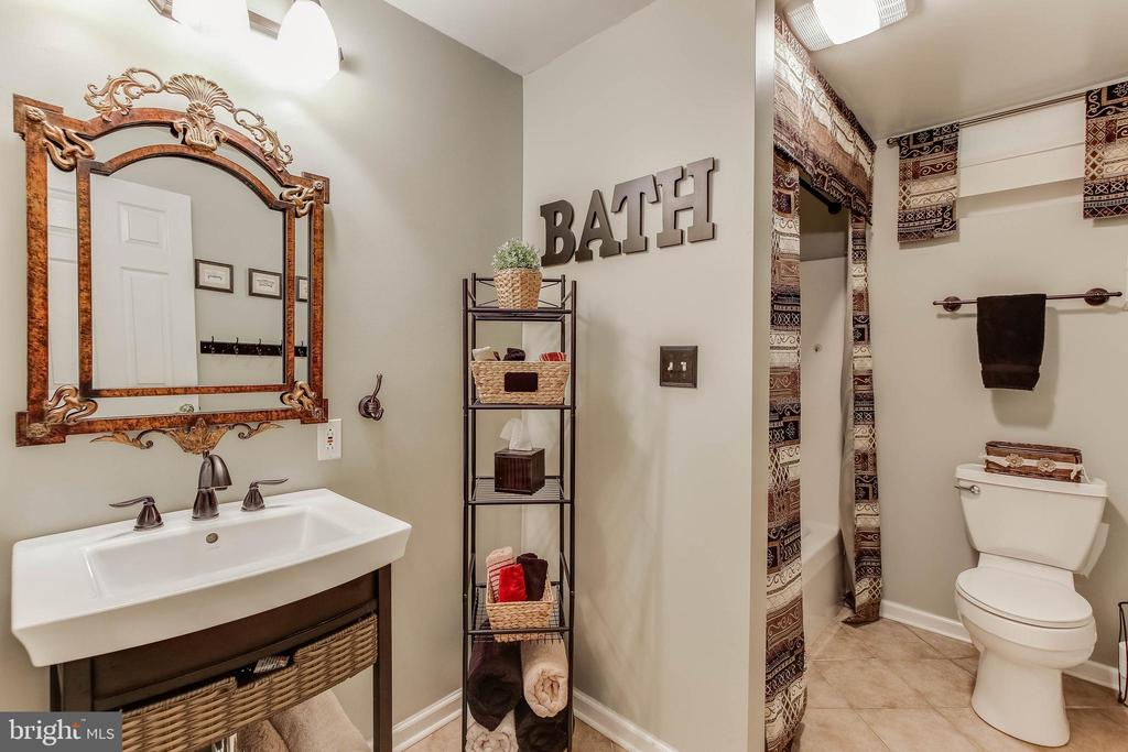 Full Bath in Basement - 8240 EDGEWOOD CHURCH RD, FREDERICK