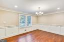 Your new dining room is ready for holiday meals - 315 SCOTT DR, SILVER SPRING