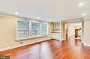 Alternative view of the family room - 315 SCOTT DR, SILVER SPRING
