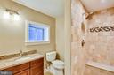 Secondary upper level bath within bedroom - 315 SCOTT DR, SILVER SPRING
