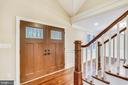 Interior view of your foyer - 315 SCOTT DR, SILVER SPRING