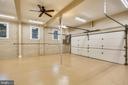 Over-sized two car garage offers ample storage - 315 SCOTT DR, SILVER SPRING