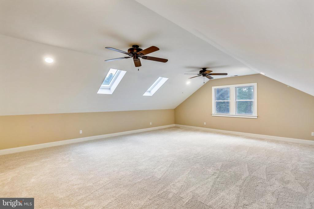 Upper level Suite with full bath and ample storage - 315 SCOTT DR, SILVER SPRING