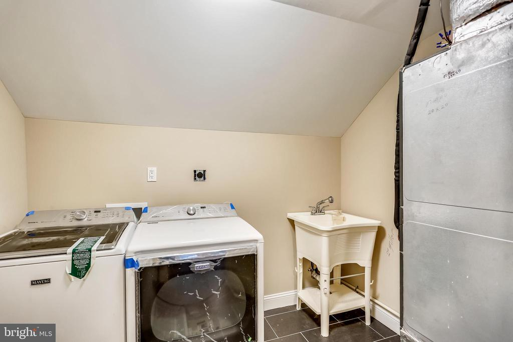 Upper level laundry room. Second one in basement - 315 SCOTT DR, SILVER SPRING