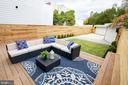 Outdoor living room! - 1432 1/2 G ST SE, WASHINGTON
