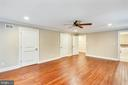 Secondary view of main level owner's suite - 315 SCOTT DR, SILVER SPRING