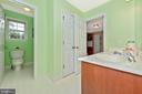 Jack and Jill bath - 10303 ILIAMNA CT, NEW MARKET