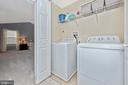 Upper level laundry - 10303 ILIAMNA CT, NEW MARKET