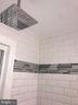 New Subway Tiles and Border, Raindrop  Showerhead - 2411 S MONROE ST, ARLINGTON