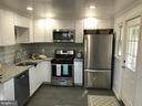 Renovated Kitchen w/ Ceramic Tile Flooring - 2411 S MONROE ST, ARLINGTON