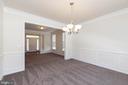 Formal dining room - 11 DARDEN CT, STAFFORD