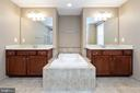 Luxury master bath - 11 DARDEN CT, STAFFORD