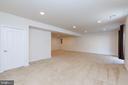 Huge re. room in basement - 11 DARDEN CT, STAFFORD