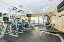 Great fitness room in the building - 2100 LEE HWY #224, ARLINGTON