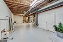 Huge unfinished area in lower level - 40843 ROBIN CIR, LEESBURG