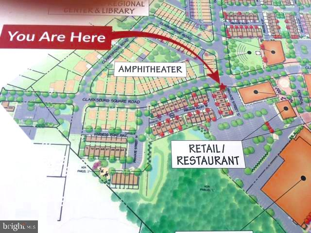 Upcoming Retail Center. Your house at arrow! - 23504 PUBLIC HOUSE RD, CLARKSBURG