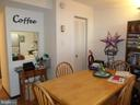Dining area and opening to kitchen - 2939 VAN NESS ST NW #1212, WASHINGTON