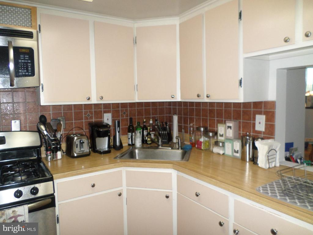 Kitchen cabinets - 2939 VAN NESS ST NW #1212, WASHINGTON