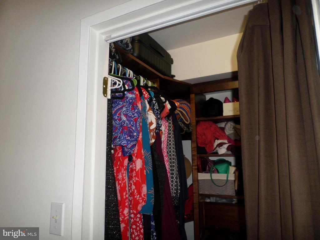 walk-in closet with shelves - 2939 VAN NESS ST NW #1212, WASHINGTON