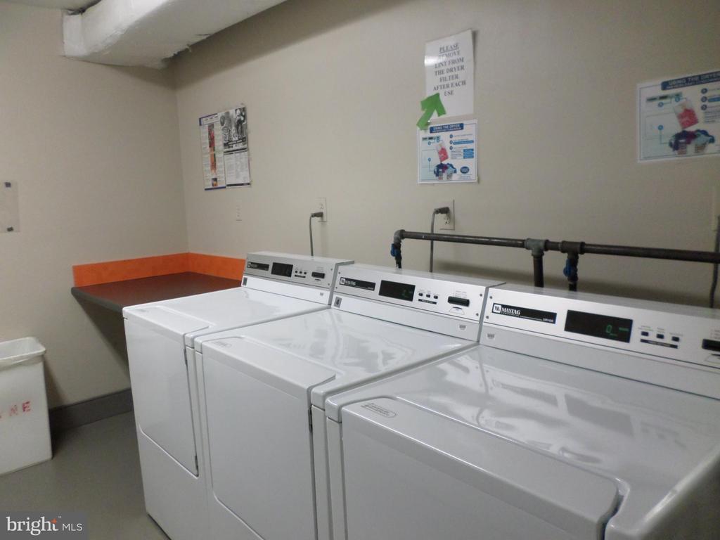 laundry-room on every floor - 2939 VAN NESS ST NW #1212, WASHINGTON