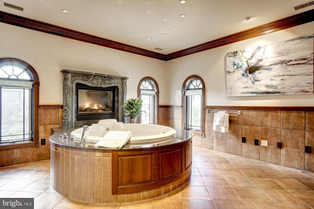 Spa, with sauna, shower, jaccuzzi and water closet - 3036 WOODLAND DR NW, WASHINGTON