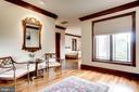 Bedroom with sitting area - 3036 WOODLAND DR NW, WASHINGTON
