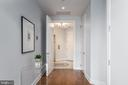 Elegant entry foyer from private elevator. - 1881 N NASH ST #1902, ARLINGTON