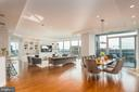 Spacious, open floor plan. - 1881 N NASH ST #1902, ARLINGTON