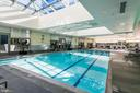 Indoor pool with spa - 1881 N NASH ST #1902, ARLINGTON