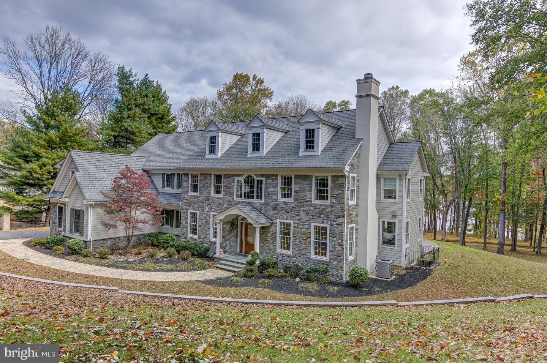 Single Family Homes для того Продажа на Media, Пенсильвания 19063 Соединенные Штаты
