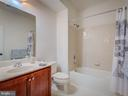 MAIN FLOOR FULL BATH - 43092 CENTER ST #4G, CHANTILLY