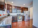 UPGRADED KITCHEN CABINETS, SS & GRANITE - 43092 CENTER ST #4G, CHANTILLY